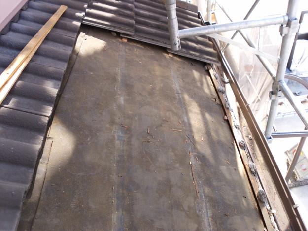雨漏り対策修理工事中DSCI0987