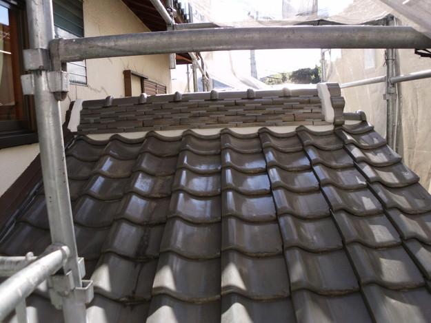 雨漏り対策修理漆喰部ビフォーDSCI0953
