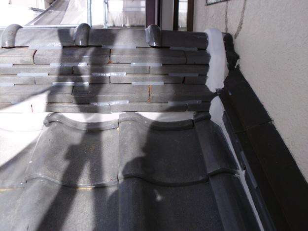 雨漏り対策修理漆喰部ビフォーDSCI0957