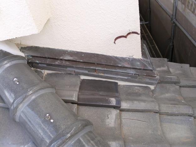 雨漏り対策修理漆喰部ビフォーDSCI0958