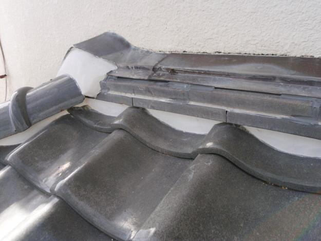 雨漏り対策修理漆喰部ビフォーDSCI0961