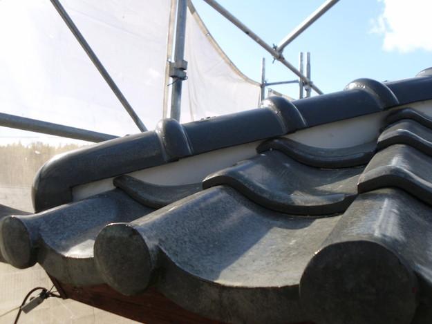 雨漏り対策修理漆喰部ビフォーDSCI0963