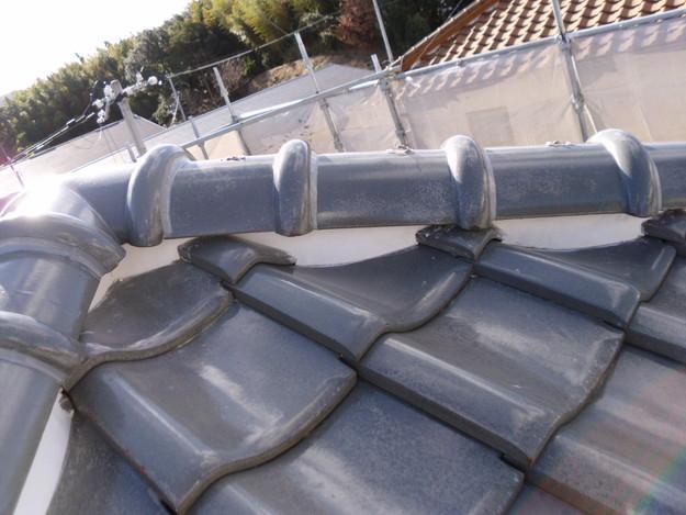 雨漏り対策修理漆喰部ビフォーDSCI0967