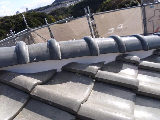 雨漏り対策修理漆喰部ビフォーDSCI0972