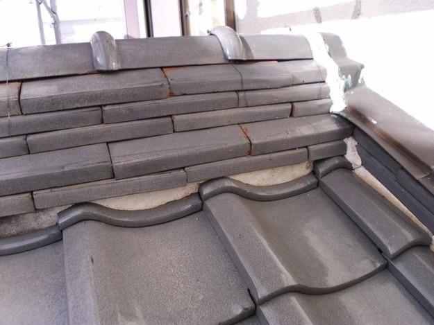 雨漏り対策漆喰修理ビフォーDSCI0868