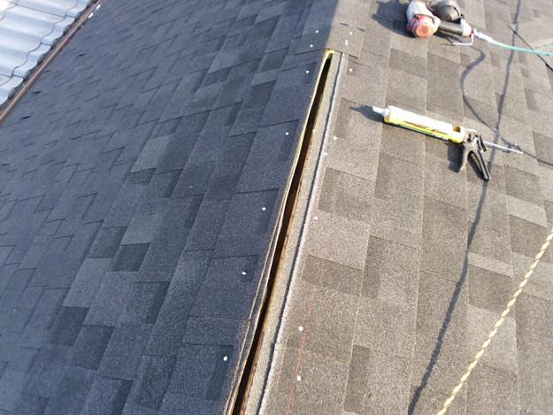 カバー工法による屋根のリフォームDSCI0663