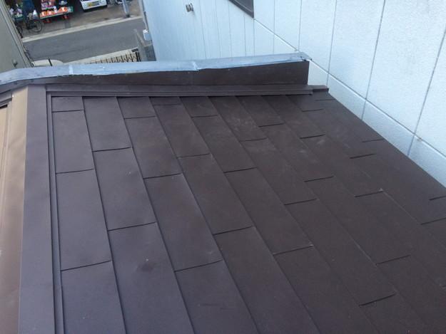 カバー工法工事による屋根のリフォーム1450663638499