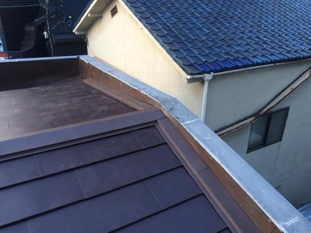 カバー工法工事による屋根のリフォーム1450663676403