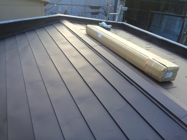 カバー工法工事による屋根のリフォーム1450663679878