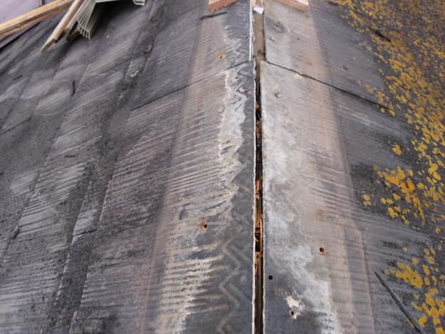 カラーベスト棟部分の劣化交換工事DSCI0626
