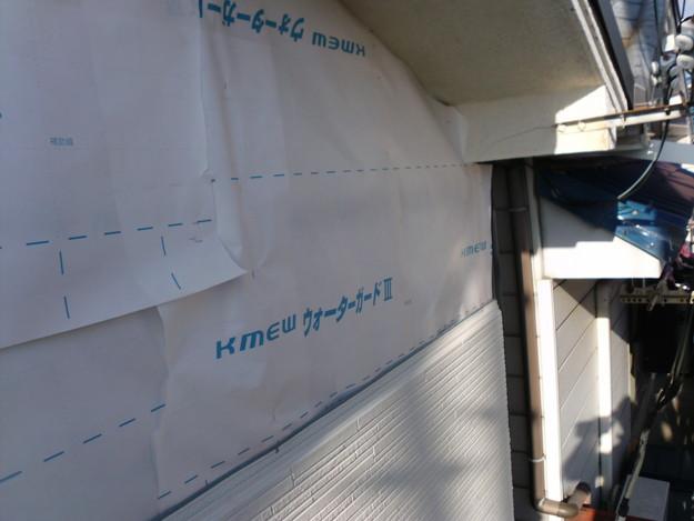 外壁サイディングリフォーム工事中DSCI0685