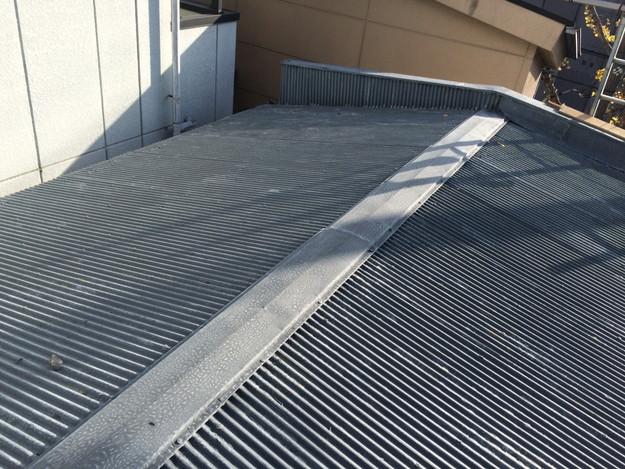 屋根のリフォームカバー工法工事施工前1450663527513