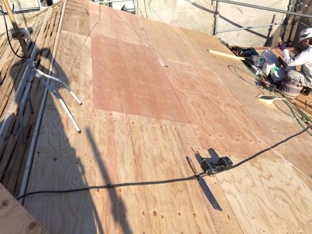 屋根のリフォーム下地補強等作業1450403136578