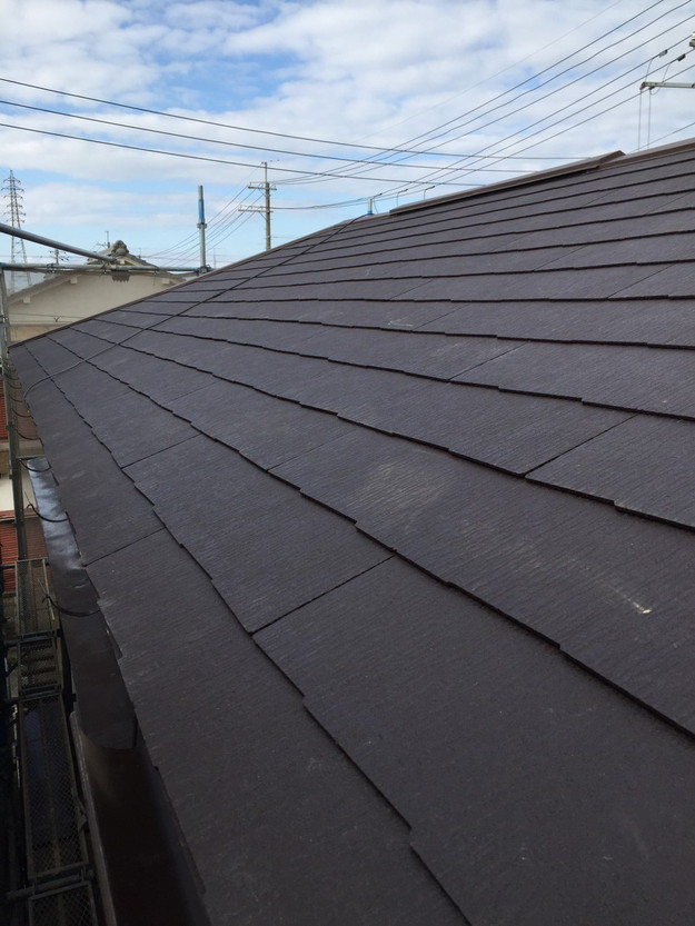 屋根のリフォーム完了1449367195915