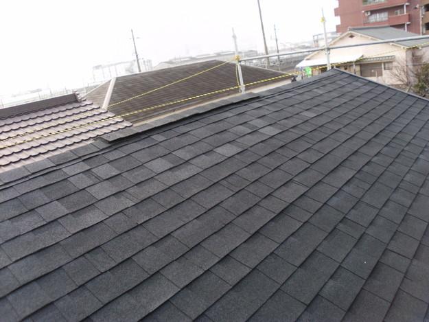屋根のリフォーム完了DSCI0699