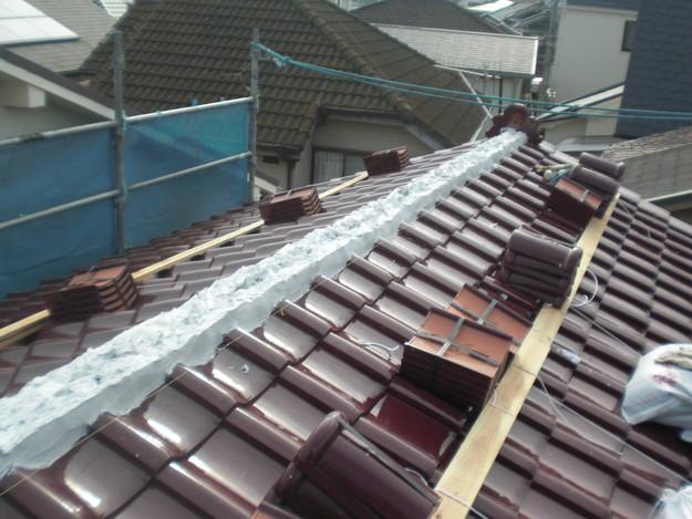 屋根のリフォーム完成までCIMG2158