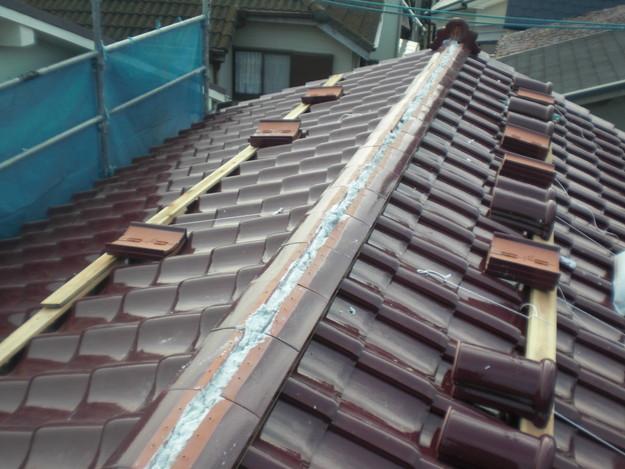 屋根のリフォーム完成までCIMG2159