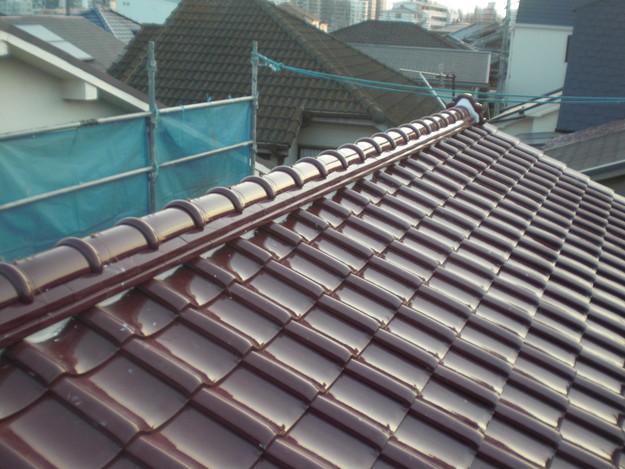 屋根のリフォーム完成までCIMG2161