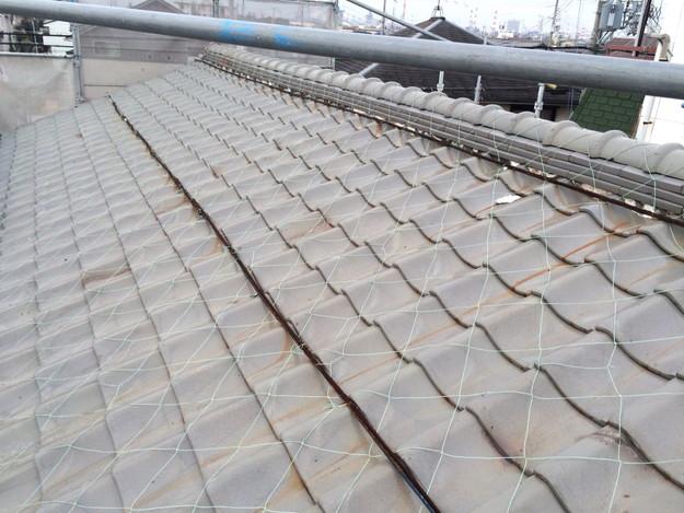 屋根のリフォーム工事ビフォー1449324346448