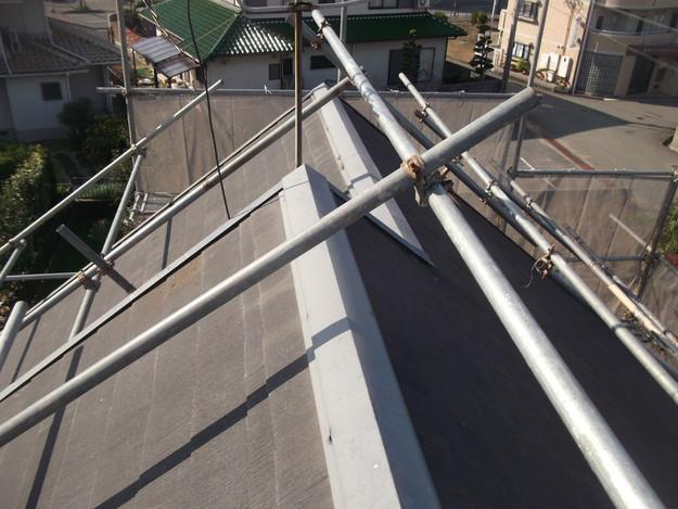屋根のリフォーム施工前の様子DSCF2401