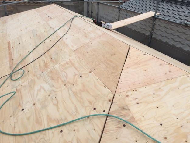 屋根の下地土台補強工事1449367316397