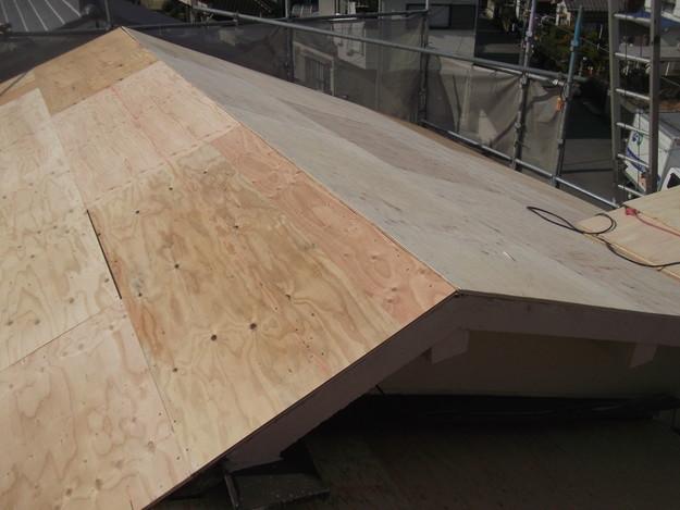屋根の補強と土台づくりDSCF2556