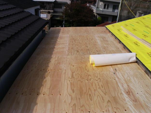 屋根下地土台補強DSCI0614