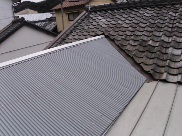 屋根工事中波板交換DSCI0762