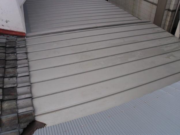 屋根工事中波板交換DSCI0768