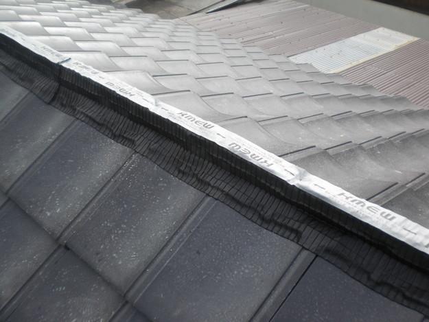 屋根葺き替えリフォーム工事新設瓦敷設から完成までCIMG2200