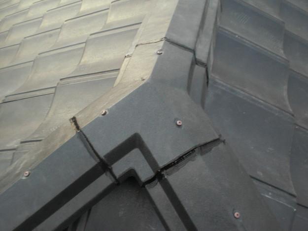 屋根葺き替えリフォーム工事新設瓦敷設から完成までCIMG2204