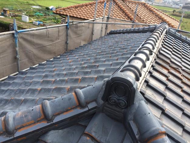 屋根葺き替えリフォーム工事施工前1449367285424