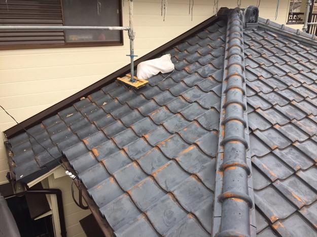 屋根葺き替えリフォーム工事施工前1449367364630