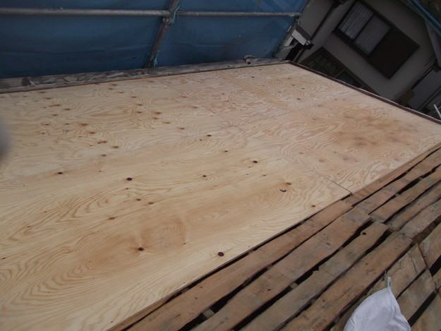 屋根補強と下地づくりDSCF2392