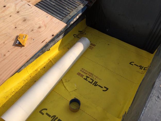 屋根防水シート張り1450663576716