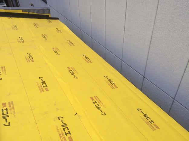 屋根防水シート張り1450663585131