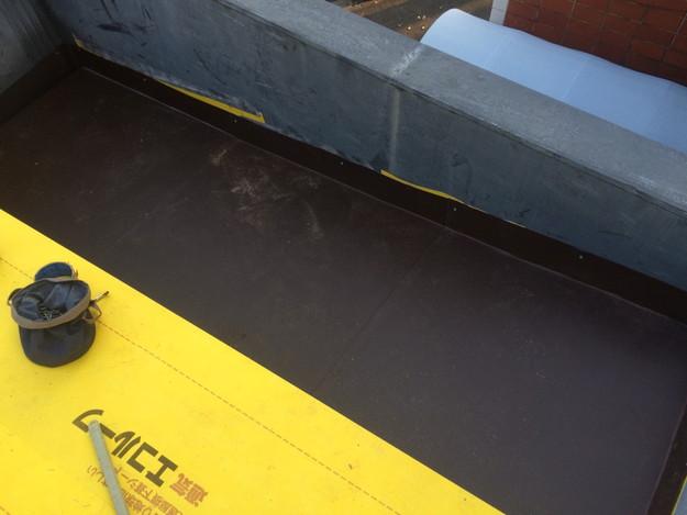 屋根防水シート張り1450663604344
