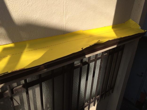 庇の雨漏り対策修理1450663571773