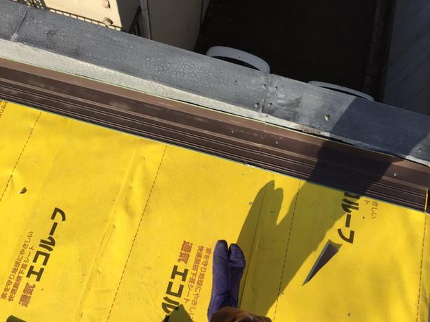 新設屋根材ガルバリウム合板使用1450663780192