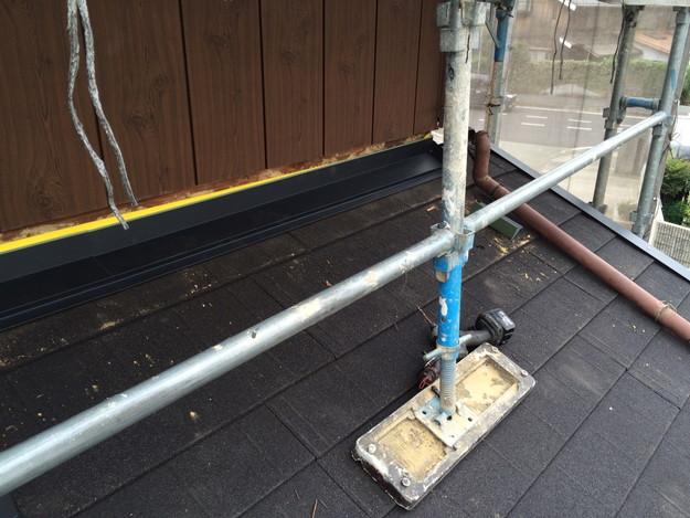 新設屋根材敷設作業1449324598665