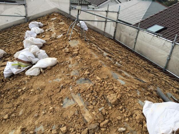 既存屋根撤去作業1450403121707