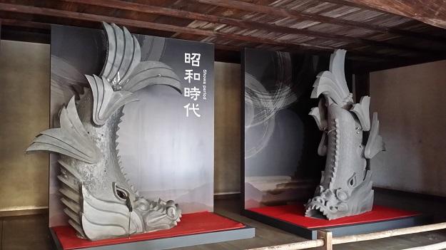 本日の鬼瓦その2姫路城兵庫県2016