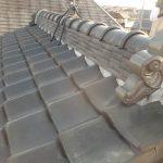 瓦屋根 漆喰修理(明石市)