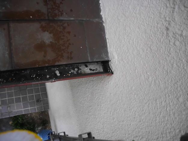 雨漏り対策修理ビフォー雨樋DSCI0901
