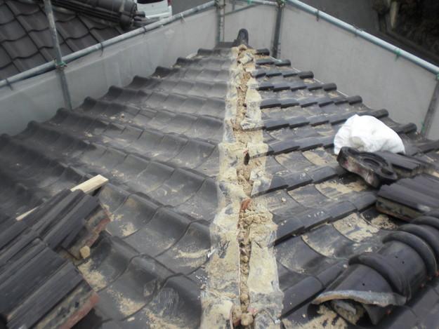 雨漏り対策修理工事CIMG2141