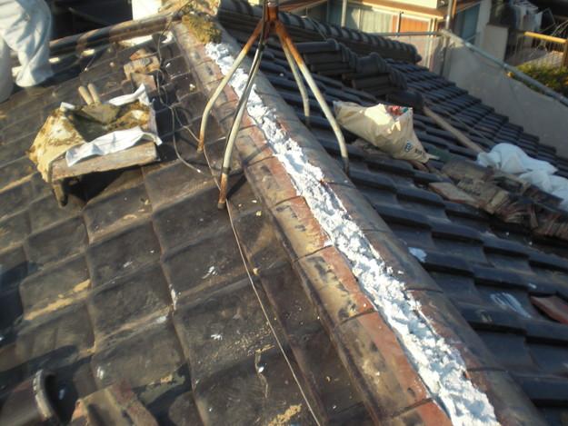 雨漏り対策修理工事CIMG2150