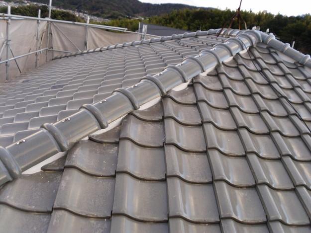 雨漏り対策修理漆喰部ビフォーDSCI0949