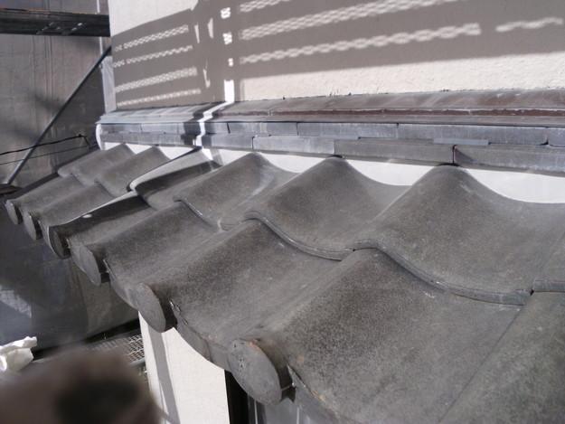雨漏り対策修理漆喰部ビフォーDSCI0952