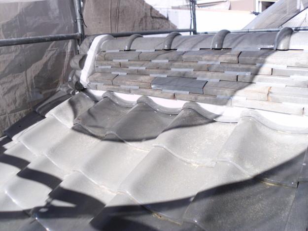 雨漏り対策修理漆喰部ビフォーDSCI0956