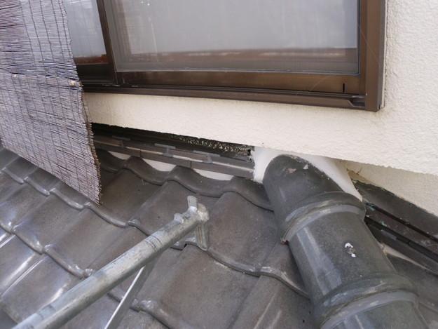 雨漏り対策修理漆喰部ビフォーDSCI0959